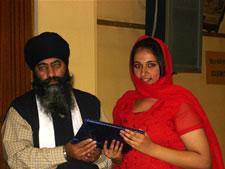 Punjabi school prize award picture