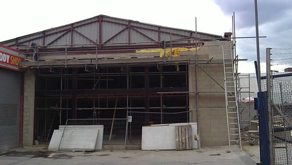 Construction of new Punjabi School