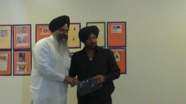 New Punjabi School - surprise visit from Malkit Singh (2)