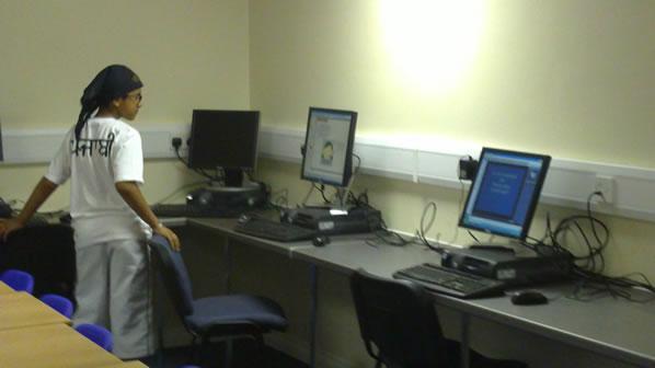 New Punjabi School - view of a classroom (3)