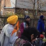 Walk to Gurdwara Amrit Parchar Dharmik Diwan